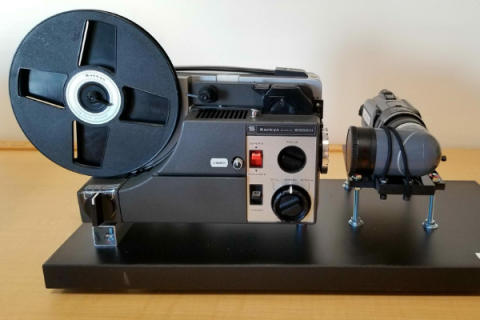 8 mm film projector