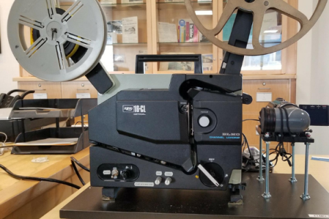 16 mm film projector
